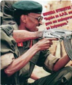 KAGAME with GUN