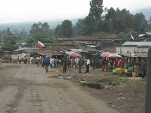 UNC flags in Kibumba