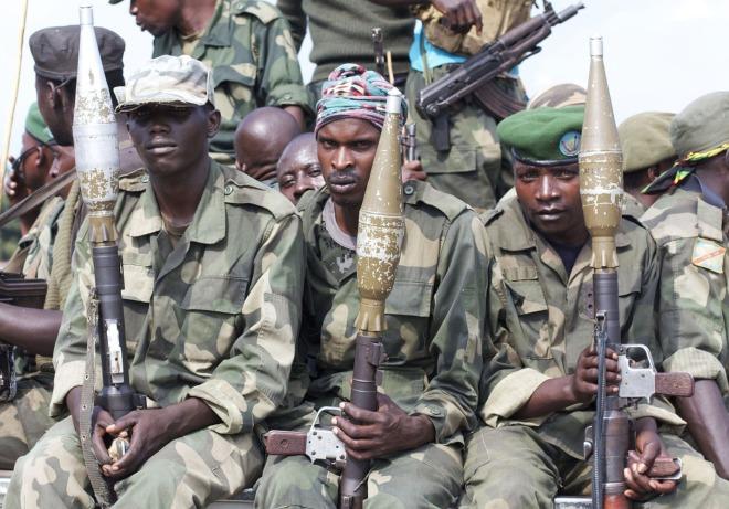 Congo Violence -rwandan tutsi soldiers