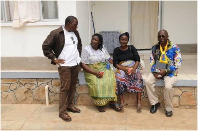 Kanambe et maman M Mukambuguje